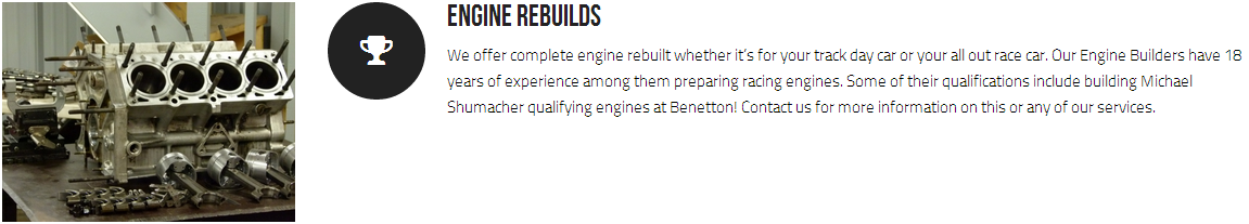 Engine Rebuilds