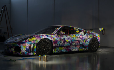 Artceleration: Turning high performance sports cars into pieces of art