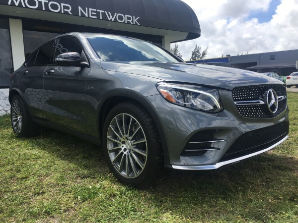 Used 2017 Mercedes-Benz GLC Coupe AMG GLC 43 Coupe | Miami, FL n13