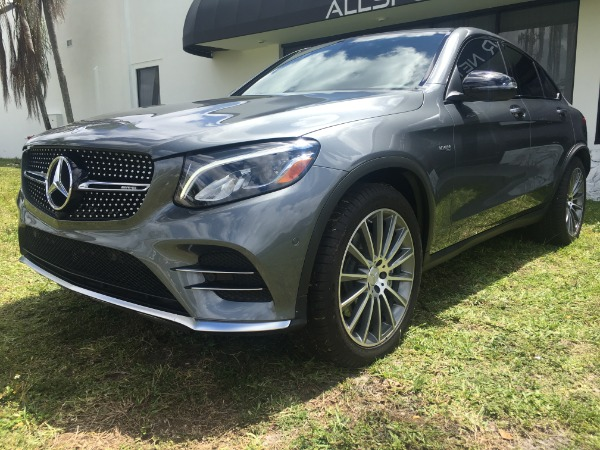 Used 2017 Mercedes-Benz GLC Coupe AMG GLC 43 Coupe | Miami, FL n15