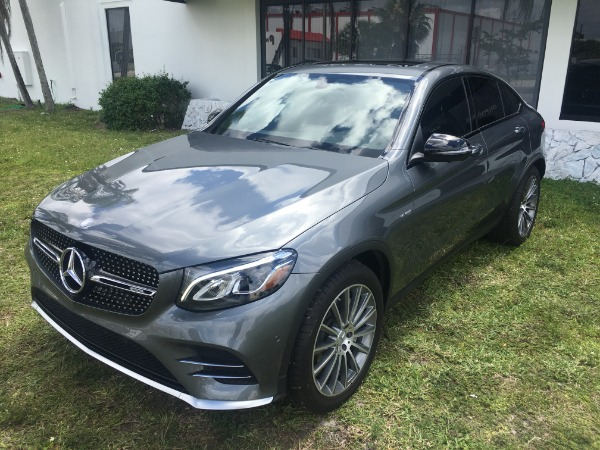 Used 2017 Mercedes-Benz GLC Coupe AMG GLC 43 Coupe | Miami, FL n18