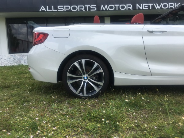 Used 2017 BMW 2 Series Convertible 230i Conv. | Miami, FL n10