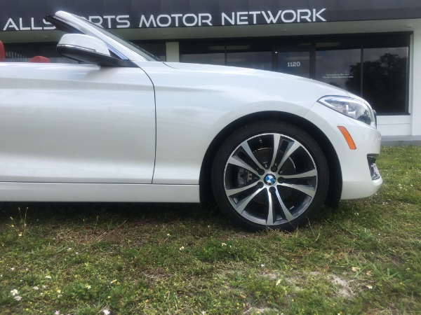 Used 2017 BMW 2 Series Convertible 230i Conv. | Miami, FL n12