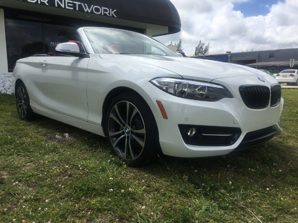 Used 2017 BMW 2 Series Convertible 230i Conv. | Miami, FL n4