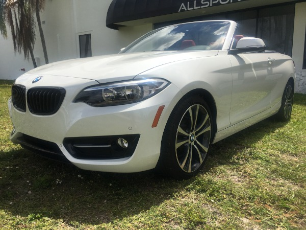 Used 2017 BMW 2 Series Convertible 230i Conv. | Miami, FL n6