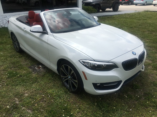 Used 2017 BMW 2 Series Convertible 230i Conv. | Miami, FL n7