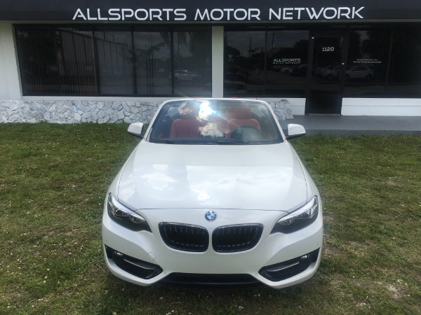 Used 2017 BMW 2 Series Convertible 230i Conv. | Miami, FL n8