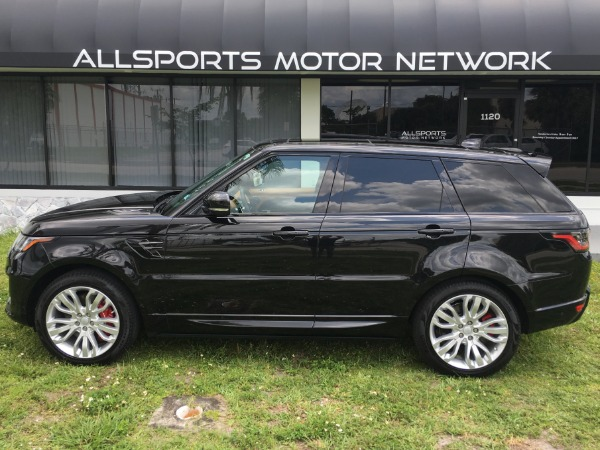 Used 2018 Land Rover Range Rover Sport V8 Supercharged Dynamic | Miami, FL n26