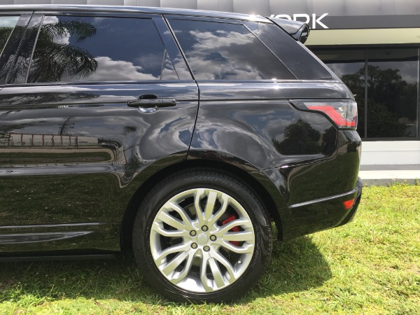Used 2018 Land Rover Range Rover Sport V8 Supercharged Dynamic | Miami, FL n27