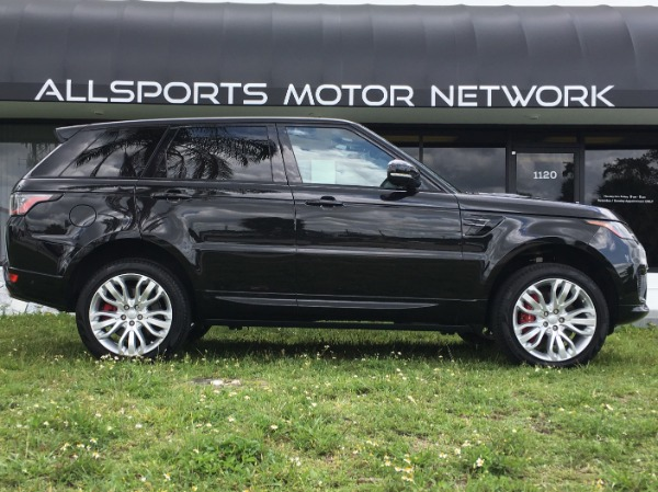 Used 2018 Land Rover Range Rover Sport V8 Supercharged Dynamic | Miami, FL n1