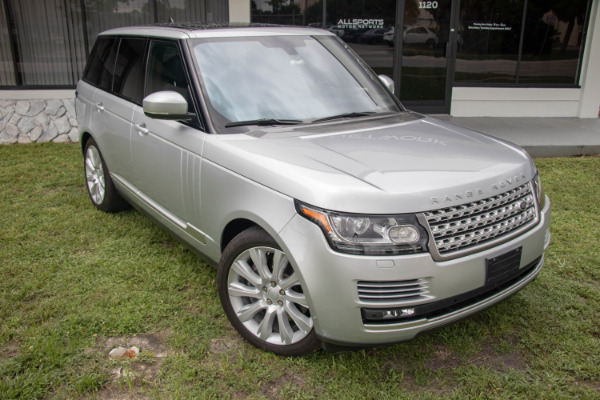 Used 2016 Land Rover Range Rover Supercharged | Miami, FL n10