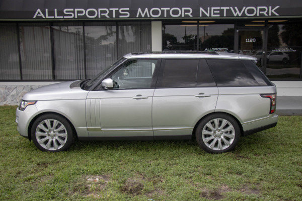 Used 2016 Land Rover Range Rover Supercharged | Miami, FL n6