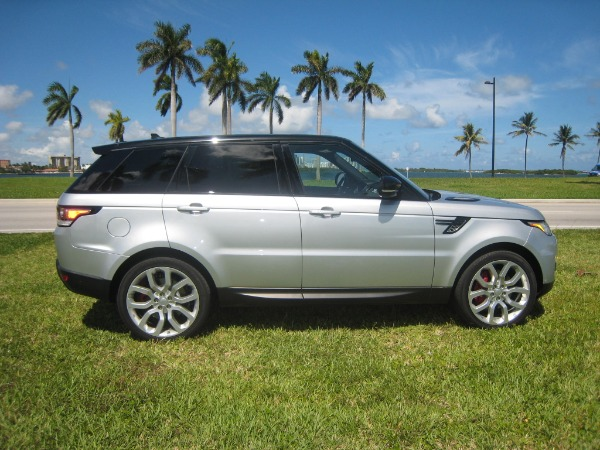 Used 2015 Land Rover Range Rover Sport V8 Supercharged Dynamic | Miami, FL n1