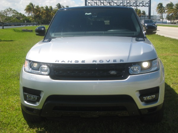 Used 2015 Land Rover Range Rover Sport V8 Supercharged Dynamic | Miami, FL n2