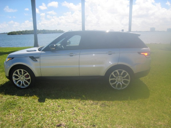 Used 2015 Land Rover Range Rover Sport V8 Supercharged Dynamic | Miami, FL n3