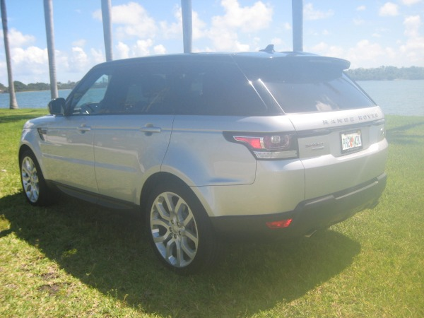 Used 2015 Land Rover Range Rover Sport V8 Supercharged Dynamic | Miami, FL n4
