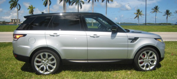 Used 2015 Land Rover Range Rover Sport V8 Supercharged Dynamic | Miami, FL n59