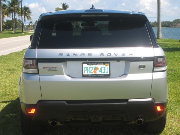 Used 2015 Land Rover Range Rover Sport V8 Supercharged Dynamic | Miami, FL n5