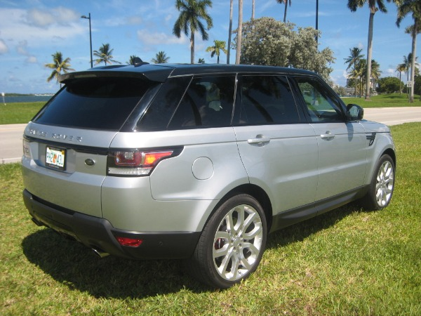 Used 2015 Land Rover Range Rover Sport V8 Supercharged Dynamic | Miami, FL n6