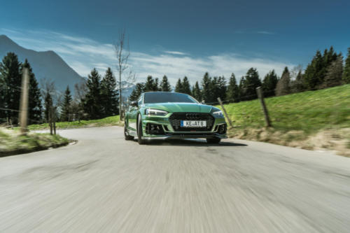 ABT RS5R front sonomagreen rolling 02