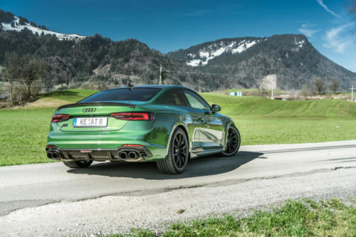 ABT RS5R rear sonomagreen grünten 03