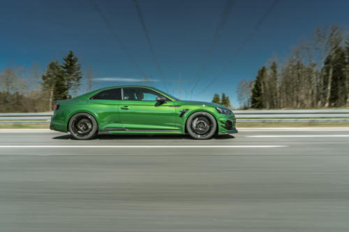 ABT RS5R side sonomagreen rolling 01
