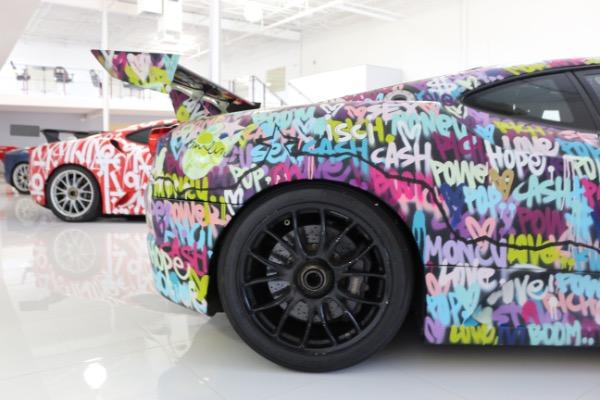 Used 2008 Ferrari F430 Challenge Artist: Ben Levy | Miami, FL n10