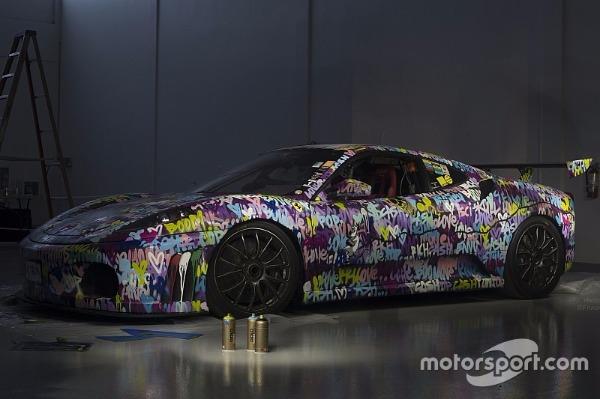 Used 2008 Ferrari F430 Challenge Artist: Ben Levy | Miami, FL n3