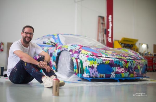 Used 2008 Ferrari F430 Challenge Artist: Ben Levy | Miami, FL n4