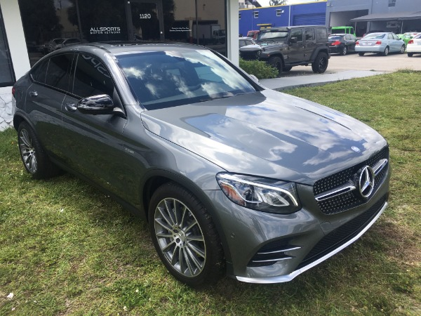 Used 2017 Mercedes-Benz GLC Coupe AMG GLC 43 Coupe | Miami, FL n17