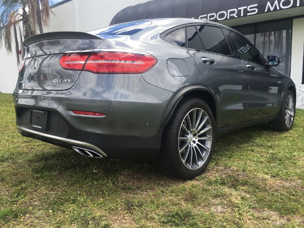 Used 2017 Mercedes-Benz GLC Coupe AMG GLC 43 Coupe | Miami, FL n22