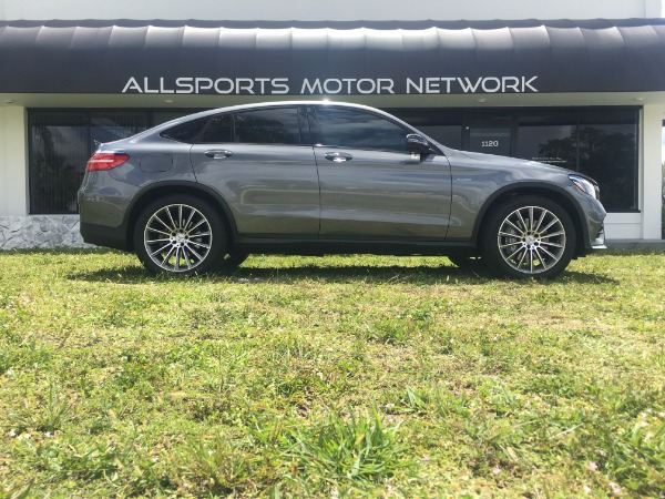 Used 2017 Mercedes-Benz GLC Coupe AMG GLC 43 Coupe | Miami, FL n9