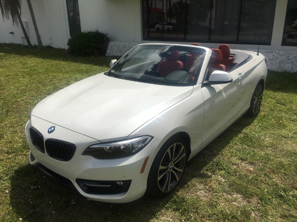 Used 2017 BMW 2 Series Convertible 230i Conv. | Miami, FL n10