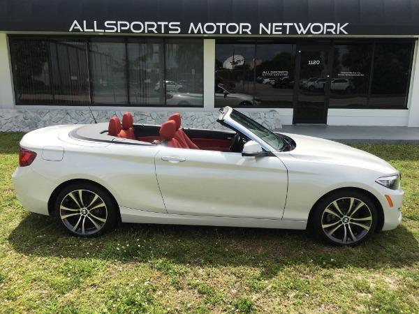 Used 2017 BMW 2 Series Convertible 230i Conv. | Miami, FL n12