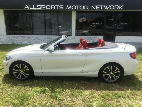 Used 2017 BMW 2 Series Convertible 230i Conv. | Miami, FL n18