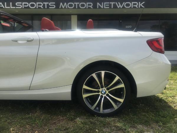 Used 2017 BMW 2 Series Convertible 230i Conv. | Miami, FL n19