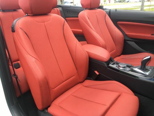 Used 2017 BMW 2 Series Convertible 230i Conv. | Miami, FL n32
