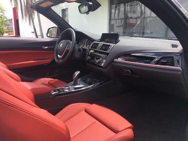 Used 2017 BMW 2 Series Convertible 230i Conv. | Miami, FL n33