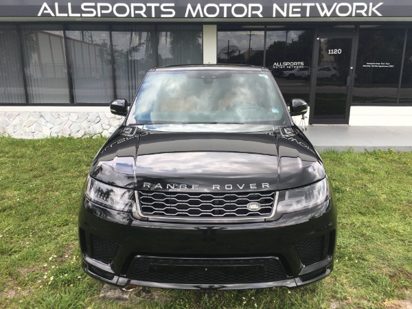 Used 2018 Land Rover Range Rover Sport V8 Supercharged Dynamic | Miami, FL n12