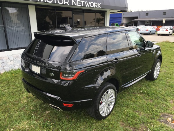 Used 2018 Land Rover Range Rover Sport V8 Supercharged Dynamic | Miami, FL n19