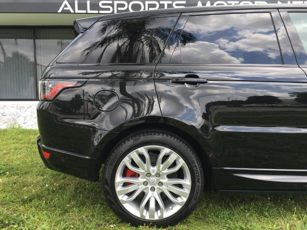 Used 2018 Land Rover Range Rover Sport V8 Supercharged Dynamic | Miami, FL n20