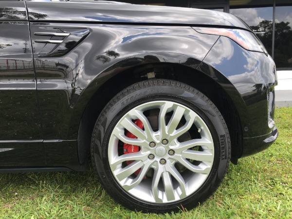 Used 2018 Land Rover Range Rover Sport V8 Supercharged Dynamic | Miami, FL n22