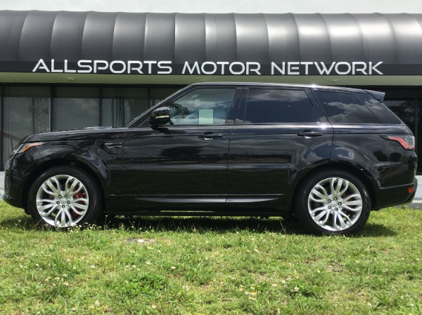 Used 2018 Land Rover Range Rover Sport V8 Supercharged Dynamic | Miami, FL n4
