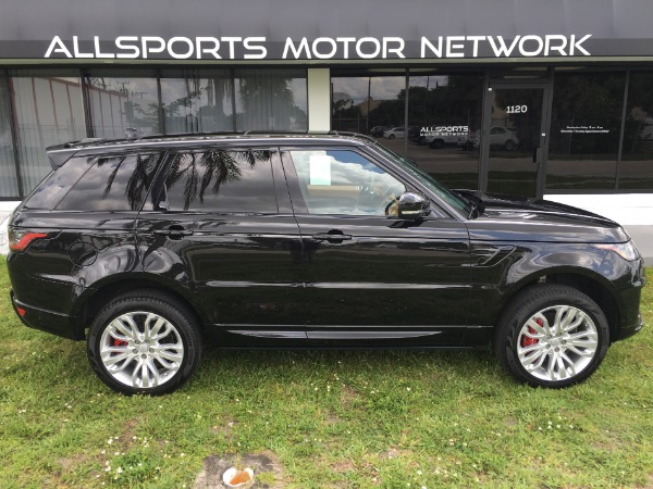 Used 2018 Land Rover Range Rover Sport V8 Supercharged Dynamic | Miami, FL n5