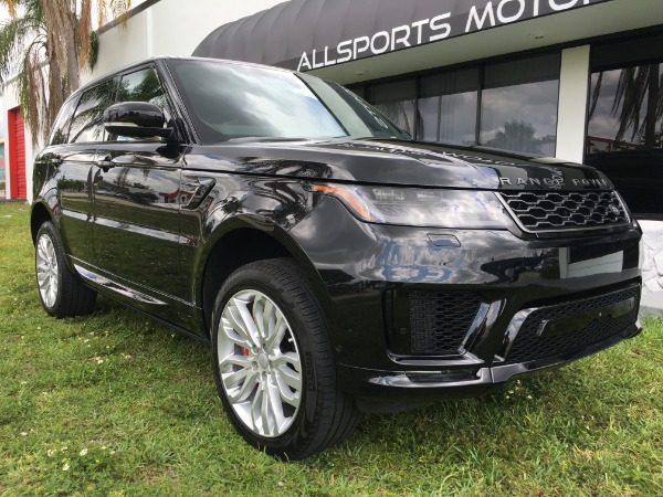 Used 2018 Land Rover Range Rover Sport V8 Supercharged Dynamic | Miami, FL n8