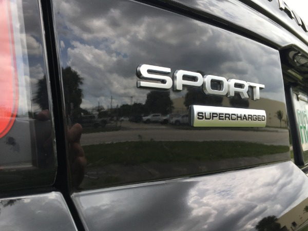 Used 2018 Land Rover Range Rover Sport V8 Supercharged Dynamic | Miami, FL n83