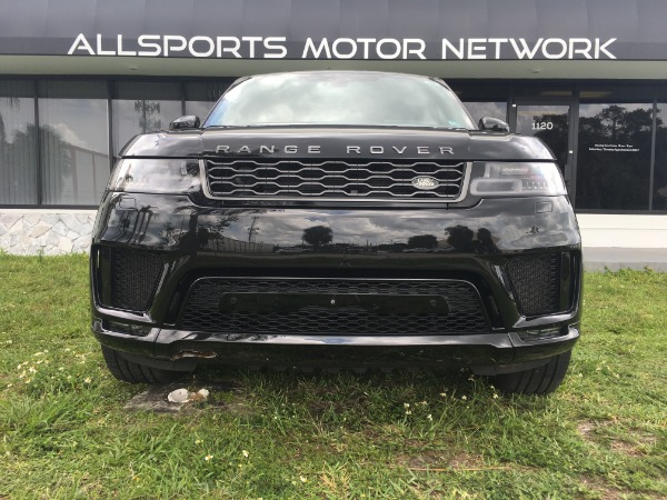 Used 2018 Land Rover Range Rover Sport V8 Supercharged Dynamic | Miami, FL n9