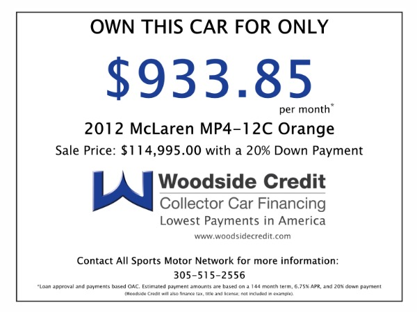 Used 2012 McLaren MP4-12C  | Miami, FL n36
