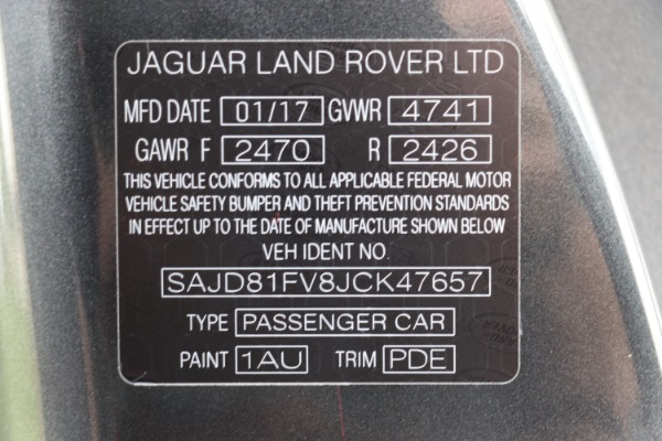 Used 2018 Jaguar F-TYPE R-Dynamic | Miami, FL n48