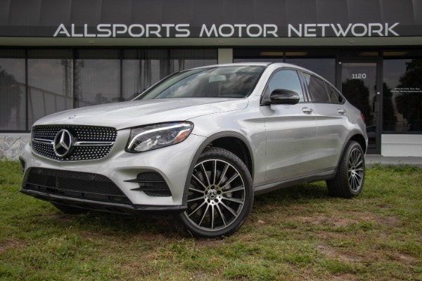 Used 2017 Mercedes-Benz GLC Coupe AMG Sport Pkg. GLC 300 4MATIC | Miami, FL n10
